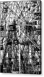 Wonder Wheel Coney Island Acrylic Print by Jeff Breiman