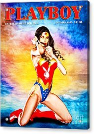 Wonder Woman 2085 Acrylic Print