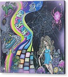 Wonderland Dreams Acrylic Print by Laura Barbosa