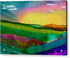 Wonderland Of Salad Days Acrylic Print