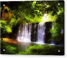 Wondrous Waterfall Acrylic Print