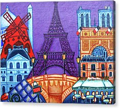 Wonders Of Paris II Acrylic Print