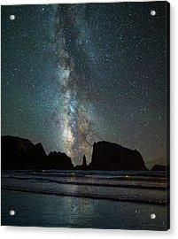 Wonders Of The Night Acrylic Print by Darren White