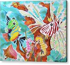 Wonders Of The Sea Acrylic Print