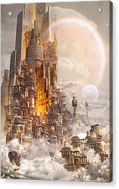 Wonders Tower Of Babylon Acrylic Print