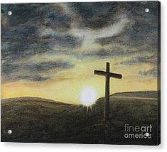 Wondrous Cross Acrylic Print