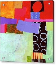 Wonky Grid #19 Acrylic Print by Jane Davies