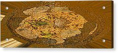 Acrylic Print featuring the photograph Wood Abstracted by Lenore Senior