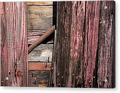 Acrylic Print featuring the photograph Wood And Rod by Karol Livote