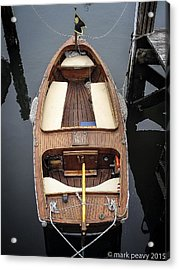 Wood Boat Nantucket Acrylic Print