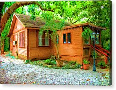 Wood Cabin Series 6335 Acrylic Print