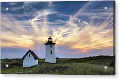 Wood End Light Acrylic Print by Bill Wakeley