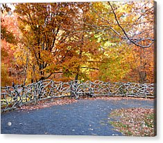 Wood Fence 1 Acrylic Print