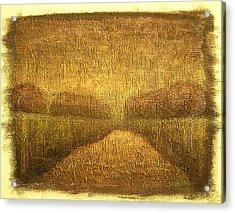 Wood Lake Sunrise Acrylic Print by Jaylynn Johnson