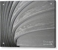 Wood Swirl Acrylic Print by Karen Sydney