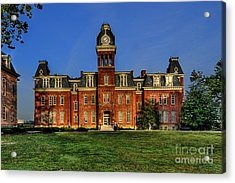 Acrylic Print featuring the photograph Woodburn Hall In Morning by Dan Friend