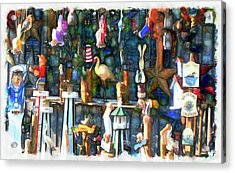 Woodcraft Giftshop In Montour Falls Acrylic Print