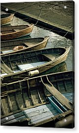 Wooden Boats Acrylic Print