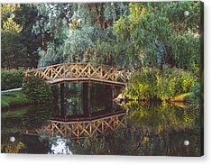 Acrylic Print featuring the photograph Wooden Bridge by Ari Salmela