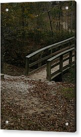 Acrylic Print featuring the photograph Wooden Bridge by Kim Henderson