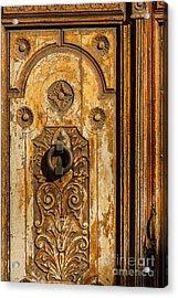 Wooden Door Acrylic Print
