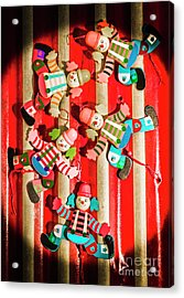 Wooden Puppet Show Acrylic Print