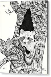 Woodland Adventures Part 1 Acrylic Print