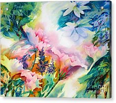 Woodland Bouquet Acrylic Print