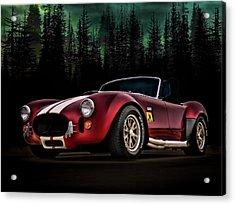 Woodland Cobra Acrylic Print by Douglas Pittman