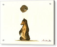 Woodland Letter I Acrylic Print by Juan  Bosco
