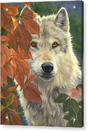 Woodland Prince Acrylic Print by Lucie Bilodeau