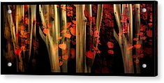 Acrylic Print featuring the photograph Woodland Whispers by Jessica Jenney