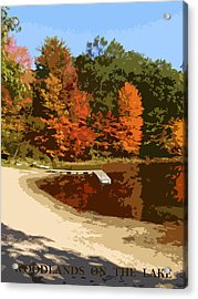 Woodlands On The Lake Acrylic Print