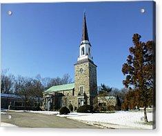 Woodlawn Cemetery Chapel Acrylic Print