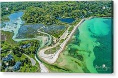 Woodneck Beach At 400 Feet Acrylic Print