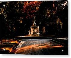 Woodruff Place Fountain  Acrylic Print by Martin Morehead
