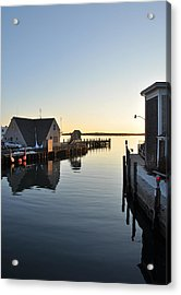 Woods Hole In Winter Acrylic Print