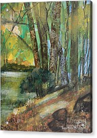 Woods In The Afternoon Acrylic Print
