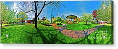 Woodstock Square Historic District 360 Spring Acrylic Print
