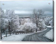 Woodstock, Vermont In Infrared Acrylic Print
