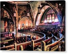 Woodward Avenue Presbyterian Church Acrylic Print