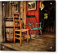Woodworker's Porch Acrylic Print