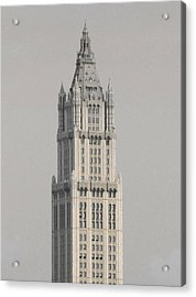 Woolworth  Black And White Two Acrylic Print by Christopher Kirby