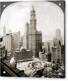 Woolworth Building, 1920s Acrylic Print by Granger