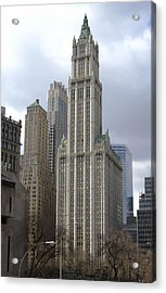 Woolworth Building Acrylic Print