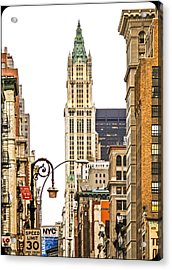 Woolworth Building Iv Acrylic Print