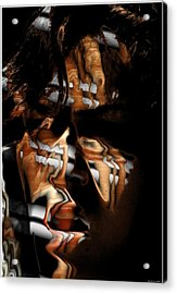 Wooow Acrylic Print by Shan Peck