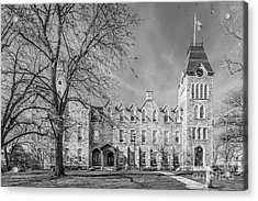 Worcester Polytechnic Institute Boyton Hall Acrylic Print by University Icons