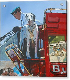 Working Dog Acrylic Print by Robert Bissett