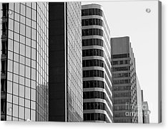 Working Downtown Acrylic Print